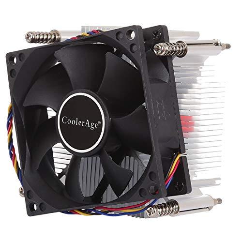 PANGTOU 4pin CPU Cooler Mute silencioso Ventilador de Calor de Ventilador para Intel 1155/1151 / I3 / i5