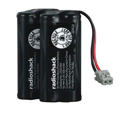 Enercell 2.4V 300mAh NI-MH Cordless Phone Battery - 2-pack Batteries
