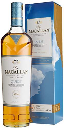Macallan QUEST Highland Single Malt Scotch Whisky mit Geschenkverpackung (1 x 0.7 l)