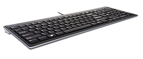 Kensington Slim Type Wired Keyboard (K72357USA)