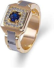 Ring with zircon from caoshi brand