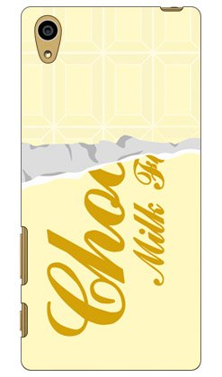 SECOND SKIN ホワイトチョコレート / for Xperia Z5 SO-01H/docomo  DSO01H-ABWH-101-W001