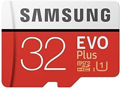 Samsung 32GB MicroSD EVO Plus Series 95MB/s (U1) Micro SDHC Memory Card with Adapter (MB-MC32GA) (1 Pack)