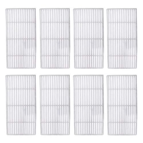 TeKeHom Lot de 8 filtres Hepa de Rechange pour Accessoires Proscenic 911SE