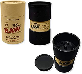 RAW Six Shooter for 1 1/4 Size Cones | Cone Loader Filling Device | Fills 1,2,3, or 6 Cones at a Time!