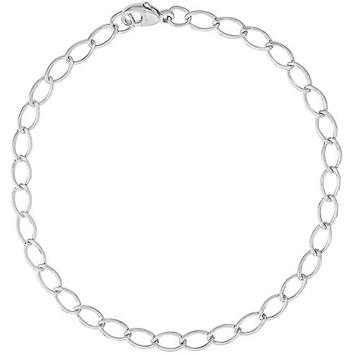 "Rembrandt Charms 7"" Charm Bracelet, Sterling Silver"