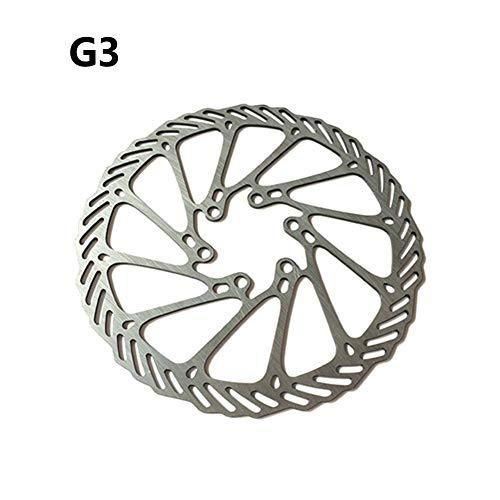 housesweet Rotor de Freno de Disco de Bicicleta Rotor de Freno de Disco de Bicicleta de Acero Inoxidable con 6 Pernos para Bicicleta Bicicleta de Carretera Bicicleta de montaña BMX MTB