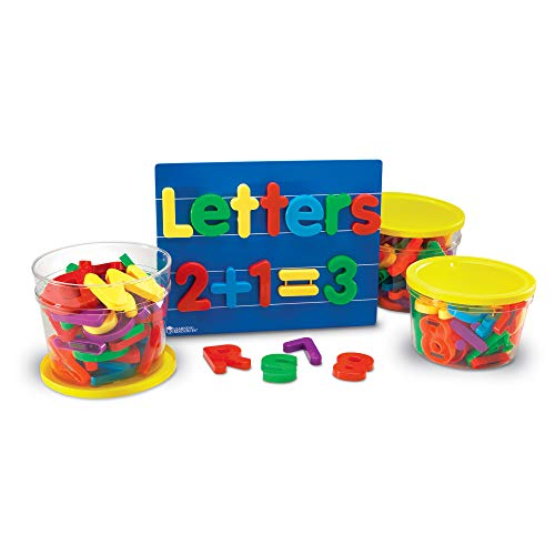 Learning Resources Jumbo Magnetic Letters & Numbers Combo Set