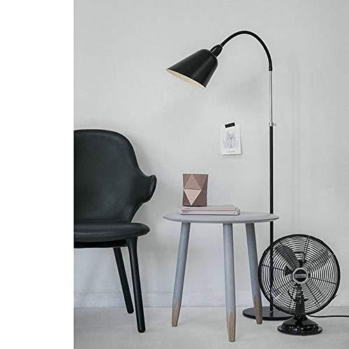 HUAHUA Lámpara de piso Lámpara moderna iluminación Arne Jacobsen Bellevue AJ2 Lámpara de pie Lámpara AJ dormitorio