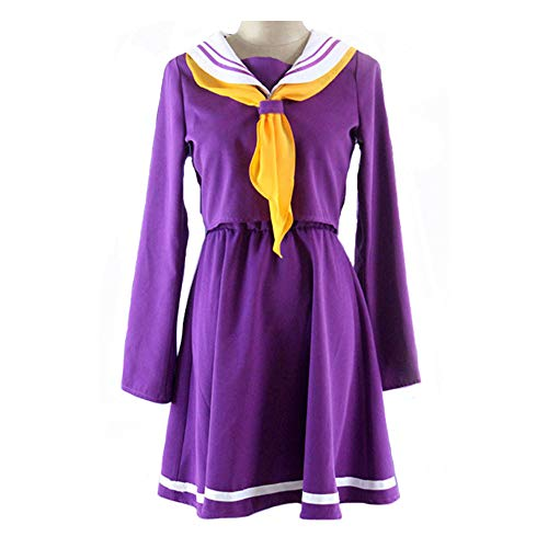 No Game No Life Disfraz Shiro Adulto Cosplay Costume
