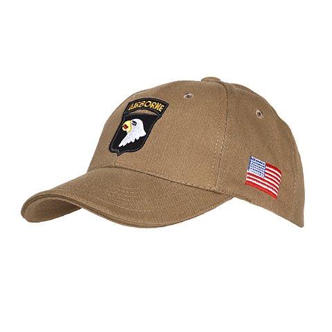 AlxShop - Casquette 101St Airborne - aigle - US - army - protection - soleil - froid - été - hiver - mode - militaire - surplus - outdoor - bonnet - vent - confort - nature - camouflage - montagne - r