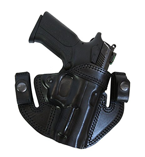 Falco IWB/OWB Leather Holster for Springfield XD Mod 2, 4'