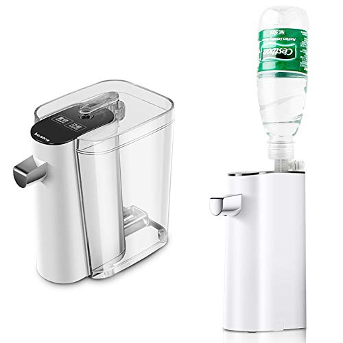 BTSSA Mini Hervidor eléctrico,Portátil Instantáneo Dispensador + Control de Flujo de Agua...