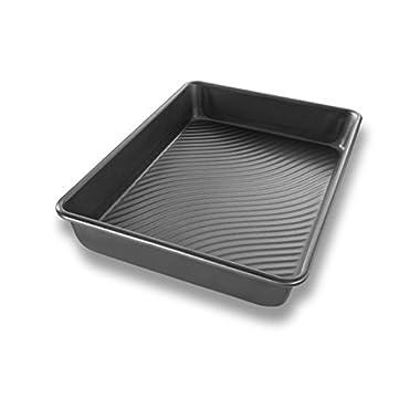 USA Pan Patriot Pan Bakeware Aluminized Steel Rectangular Cake Pan