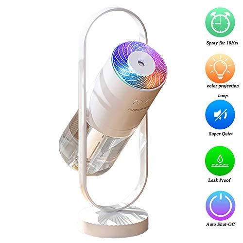 Mini humidificador de vapor frío-mini humidificador portátil con luces led,humidificador de aire portátil usb ultra silencioso,adecuado para bebés, niños, dormitorios, oficinas, automóviles, viajes