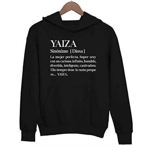 Yaiza | La Mujer perfecta | Sudadera con capucha Unisex M