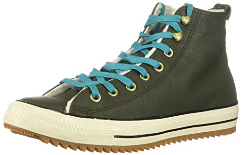 Converse Women's Chuck Taylor All Star Hiker Boot Sneaker, Utility Green/Rapid Teal, 5