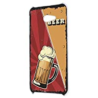 すまほケース ハードケース BASIO4 KYV47 用 BEER ビール・レッド ビンテージ アメリカン レトロ USA 京セラ ベイシオ フォー au すまほカバー 携帯ケース 携帯カバー beer_00z_h191@04