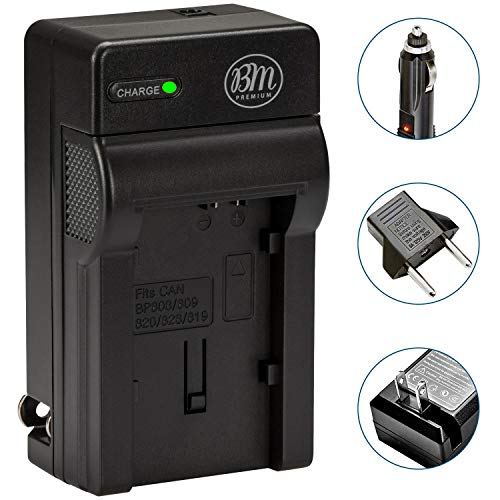 BM CG-800 Replacement Battery Charger for Canon BP-819 BP-820 BP-827 BP-828 HF G60 XA55 GX10 HFG20 HF G21 HFG30 HFG40 HFM31 HFM32 HFM300 HFM301 HFM40 HFM41 HFM400 XA10 XA11 XA15 XA20 XA25 XF400 XF405