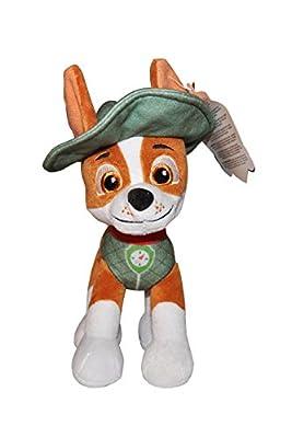 PAW PATROL Patrulla Canina - Peluche Personaje, Tracker, 20 cm por PlayByPlay