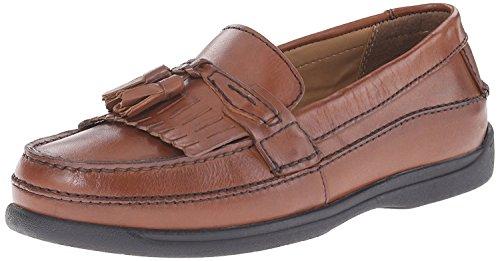 Dockers Men's Sinclair Kiltie Loafer,Antique Brown,11 M US