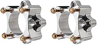 Yamaha ATV Banshee, Raptor, Warrior, YFZ 4/115 Rear Wheel Spacers (adds 4 inches of width)