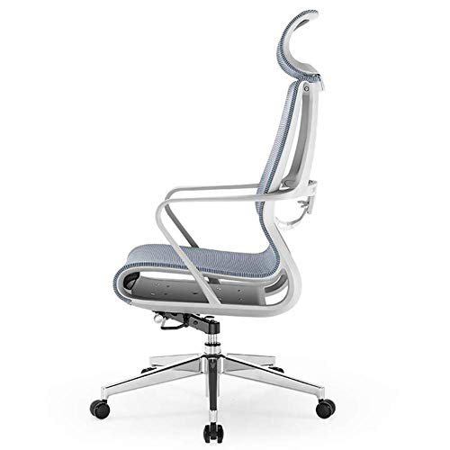 luckyW Home Swivel Chair Modern Minimalist Office Chair Ergonomic Computer Chair Mesh Adjustable High and Low Office Chair