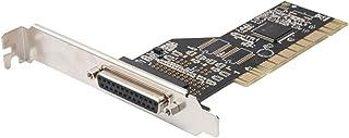 SJZERO Adaptateur de Carte d'extension de contr?Leur de Port d'imprimante PCI vers parallèle LPT 25pin DB25 pour Accessoir...