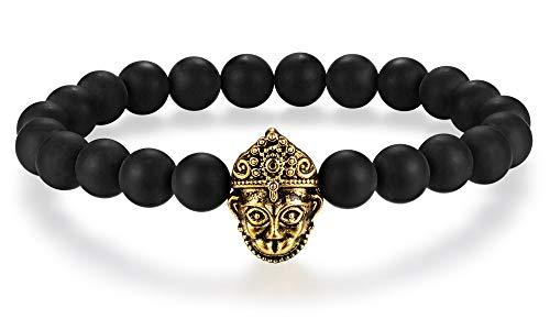 Hanuman Hindu God of Strength and Courage Energy Beads Bracelet 8mm