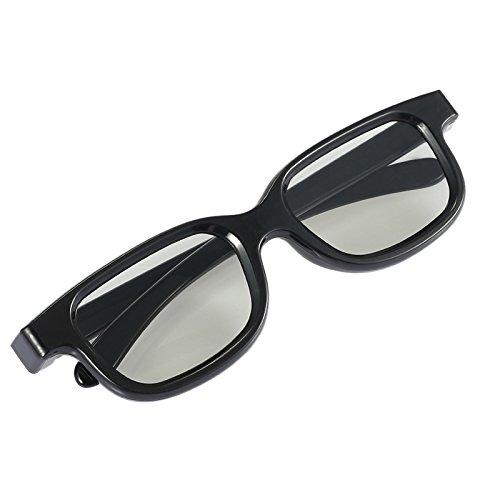 3D-Brille, Polarisations-3D-Technologie - Ultraleicht passiv für Fernseher, Kino und Computerspiele