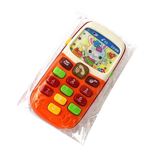 Yihaifu Regalo Teléfono electrónica Teléfono de Juguete de los niños del teléfono móvil del teléfono Celular del teléfono móvil de Juguete plástico Educativo y Juguetes de Aprendizaje del bebé