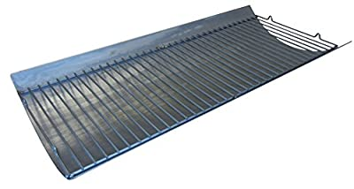 Music City Metals Aluminized Steel Replacement Ash Pan for Char Griller Charcoal and Gas Grills 2121, 2222, 2828