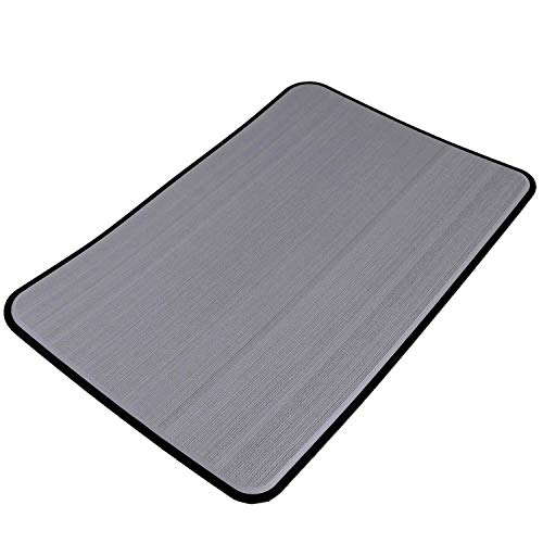 Castaway Customs | Seadek Foam Yeti Seat Cushion | 3M Adhesive Backing | Cooler Pad Accessory | Washable & Durable | Fits Tundra 35 | Storm Gray/Black