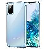 MoKo Compatible con Samsung Galaxy S20 Plus 5G Funda/Galaxy S11 5G Funda, Transparente Flexible TPU Cubierta Anti-Arañazos Cubierta para Galaxy S20+ / Galaxy S11 6.7 Inch 2020 - Cristal Claro