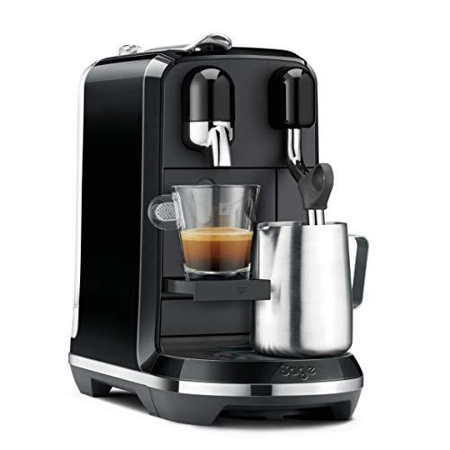 Sage Appliances NESPRESSO SNE500 the Creatista Uno von Sage - Espumador de leche, color negro brillante