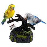 Tipmant Talking Parrots Birds Electronic Pets Office Home Decoration Recording & Playback Function Pen Holders Kids Toys Christmas Brithday Gifts