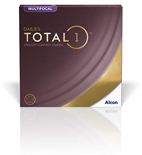 Alcon Dailies Total 1 Multifocal Tageslinsen weich, 90 Stück / BC 8.6 mm / DIA 14.1 mm / ADD LOW / +1.5 Dioptrien