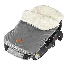 JJ Cole BundleMe bunting bag  in gray