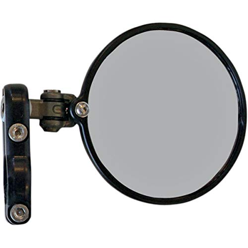 CRG Hindsight LS Elbow Bar End Mirror (Right Side) (Black)
