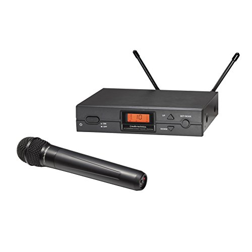 Audio-Technica 2000 Series Wireless System Audio Technica 2000 Series Handheld System (ATW-2120BI), Black