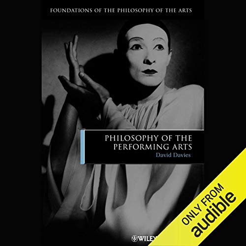 Philosophy of the Performing Arts copertina