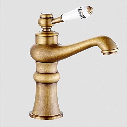Grifo Faucet Vintage Style Single Control Rustic Bathroom Faucet Antique Copper Finish Bathtub Faucet With China (Bronze) Antique