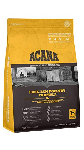 Acana Grain Free Dog Food, Free Run Poultry,...