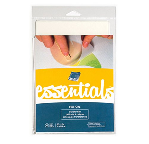 Grafix Essentials Ink Jet Film 5.5 x 8.5-inch, 0.11 x 16.510000000000002 x 24.470000000000002 cm, Multi-Colour