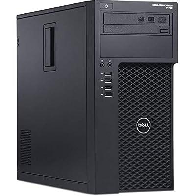 Dell Precision T1700 Workstation, Quad-Core i7 4770 Upto 3.9GHz, 16GB DDR3, 1TB SSD + 500GB HDD, 4K 3-Monitor Support(2X DP x 1 VGA), WiFi, Bt 4.0, DVD-RW, USB 3.0, Win 10 Pro(Renewed)