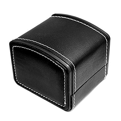 Uhrenbox Pu Leder Quadrat Geschenk Armband Armreif Schmucketui Organizer, Langlebige Display Aufbewahrung