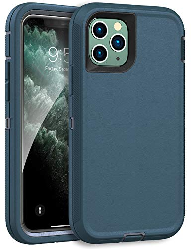 MXX Heavy Duty Case for iPhone 11 Pro Max - (No Built in Screen Protector) Drop Protection Tough Case for Apple iPhone 11 Pro Max (Tuscan Teal/Gray)