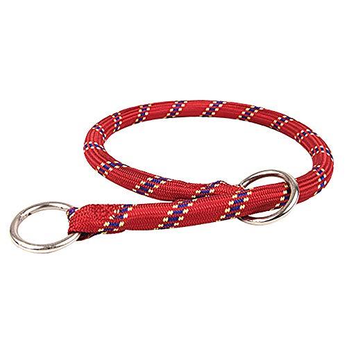 Zolux hondenhalsband van nylon, 65 cm, rood