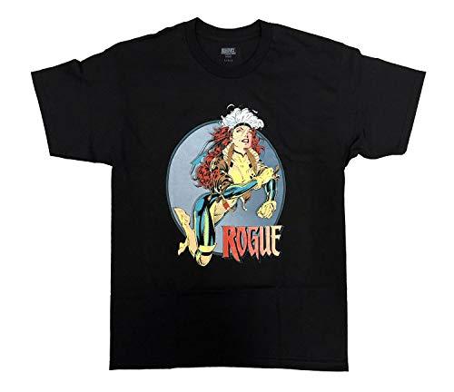 Marvel Rogue So Fly X-Men Comics Men's T-Shirt (Medium) Black