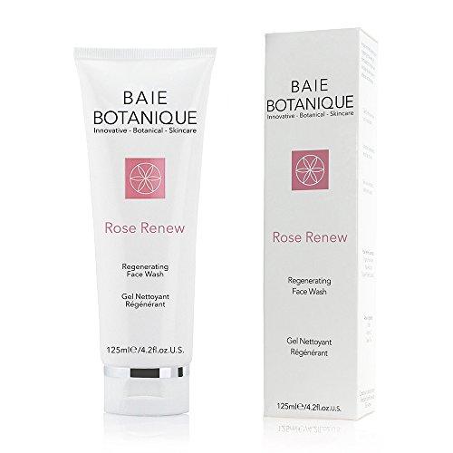 Gel Limpiador Facial 125ml - Agua de Rosa, Absoluto de Rosa, Aceite...